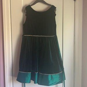 Macy's emerald green dress